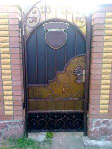 Распашные ворота фото № 1-34