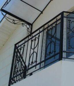 Красивое ограждения балконов