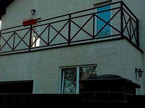 Металлические ограждения балконов, фото 1